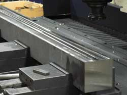 Stainless steel blocks manipulated in our forgings